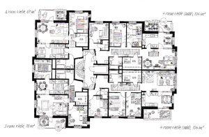 Planlösning-Våning
